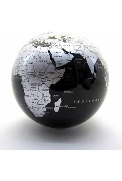 Katarsis Pilli Işıklı Dönen Dünya Küre Siyah