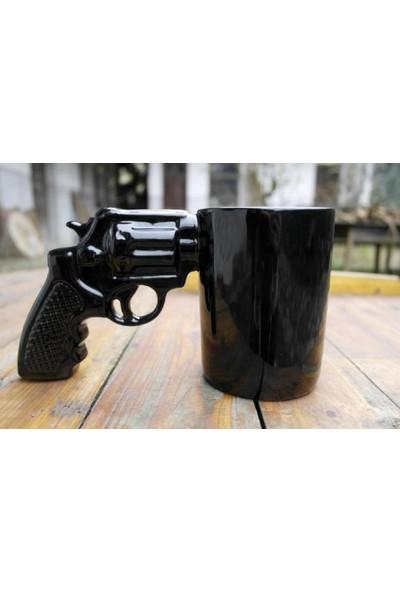 Katarsis Silah Kupa Bardak Gun Mug Büyük Boy