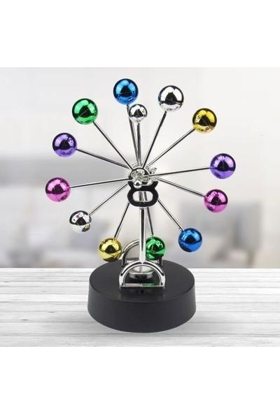 Katarsis Mıknatıslı Renkli Denge Topu Newton Balance
