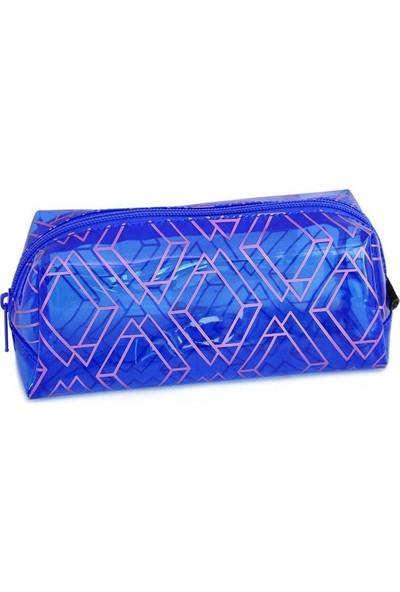 Zipit Metalik Jumbo Kalem Kutusu Parlament Mavi