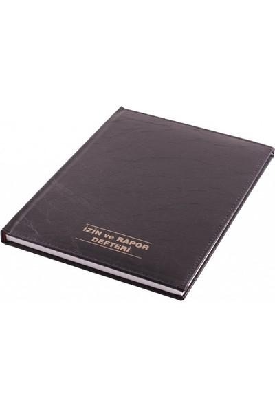 İzin Ve Rapor Defteri Suni Deri 21X30 100 Yaprak