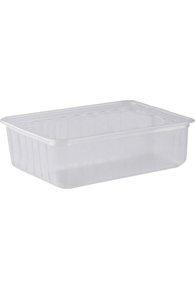Vempi Şeffaf Plastik Dondurma Kase 1000 gr 1000' li