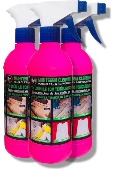 Genel Temizlik Ürünü 3'lü Paket Muhteşem Cleaning 1,7 kg