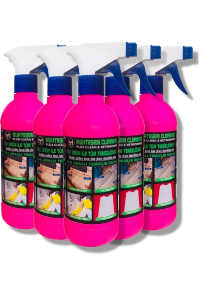 Genel Temizlik Ürünü 5'li Paket Muhteşem Cleaning 3 kg
