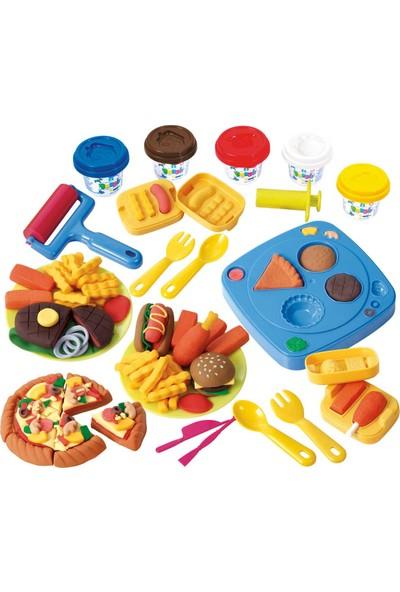Play Go Oyun Fast Food Dükkani 5'li Hamur Seti