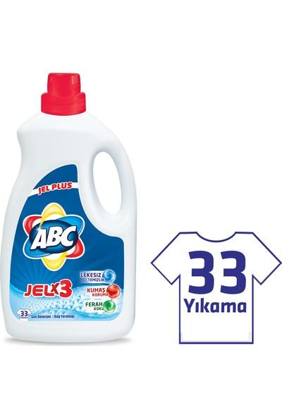 ABC Jel Çamaşır Deterjanı Dağ Ferahlığı 2145 ml (33 Yıkama)