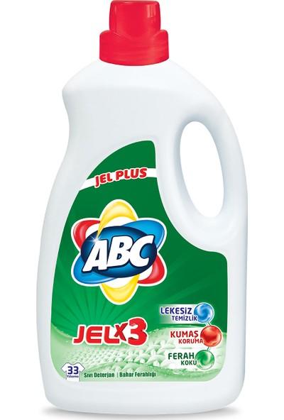 ABC Jel Çamaşır Deterjanı Bahar Ferahlığı 2145 ml (33 Yıkama)
