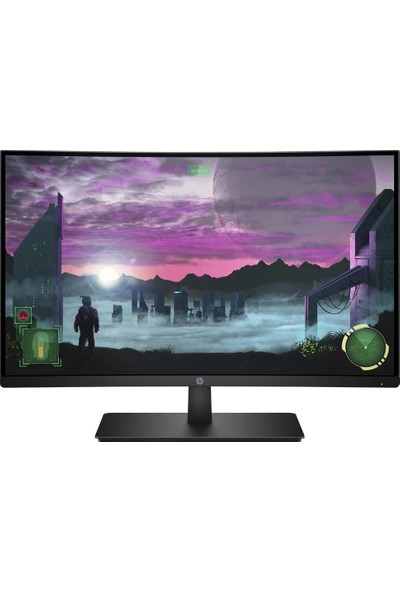 "HP 27X 27"" 144Hz 5ms (HDMI+Display) FreeSync Full HD Curved Monitör( 1AT01AA)"