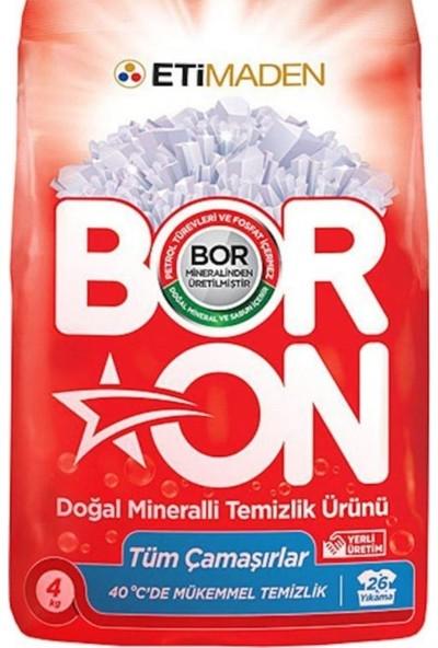 Boron Doğal Mineralli Temizlik Ürünü Tüm Çamaşırlar 4 kg