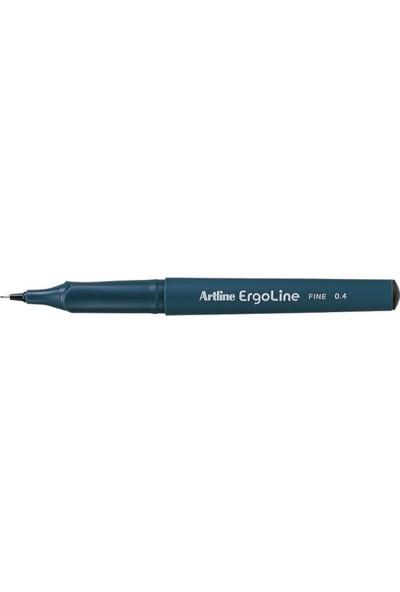 Artlıne İmza Kalemi Ergolıne Siyah Erg-3400