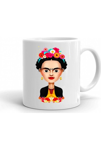 Scubapromo Frida Baskılı Kupa