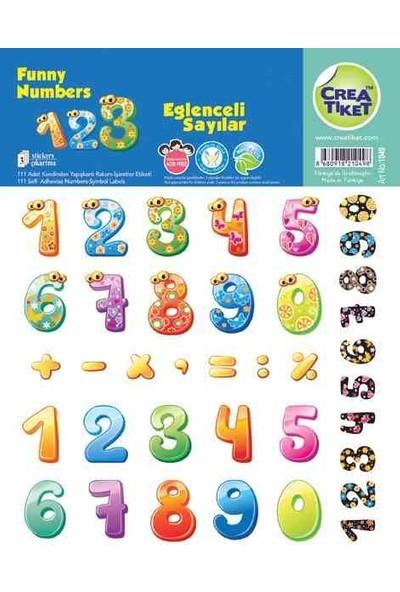Crea Etiket Eğitim Eğlenceli Sayılar 1049