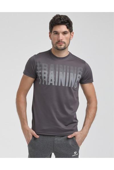 Airlife Erkek Füme Basic Yaka Tişört