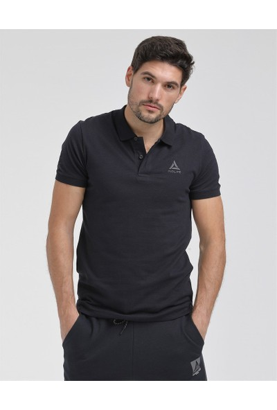 Airlife Erkek Lacivert Polo Yaka Tişört
