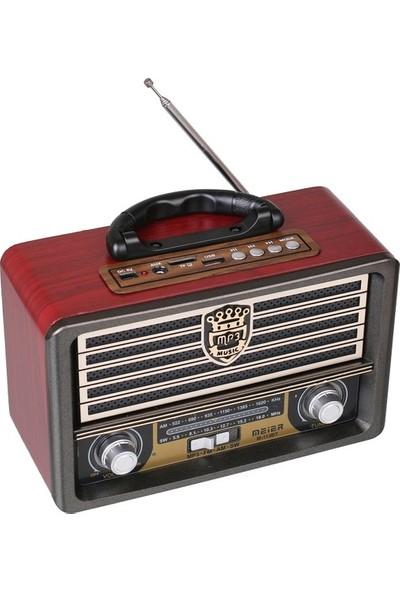 Pusula M 113 Bt Nostaljik Görünümlü Usb Sd Radyo