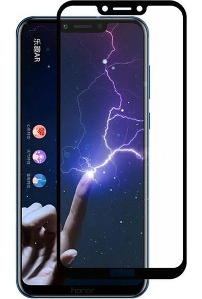 Gpack Huawei Honor Play Full Kapatan Renkli Cam Siyah