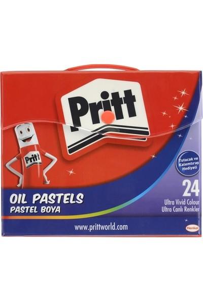 Pritt 24 Renk Çantalı Pastel 1048064