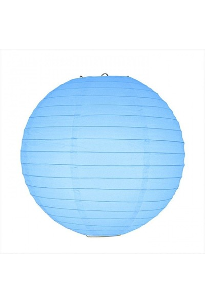 Parti Feneri Açık Mavi Japon Feneri 35 cm