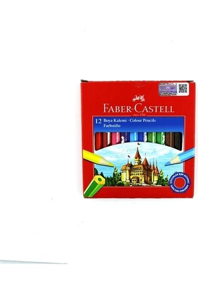 Faber-Castell 12 Renk Kuru Boya Kalemi 1/2 Boy 1116412