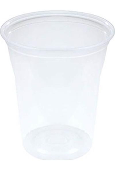 Lüks Plastik Meşrubat Bardağı 400 cc