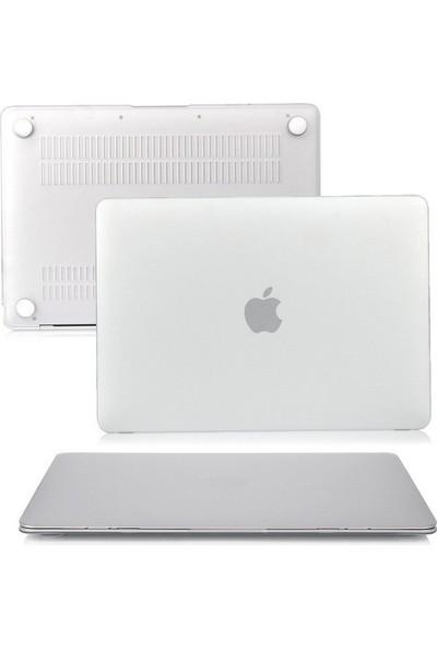 "Kızılkaya Apple Macbook Air A1369 A1466 13"" - 13.3"" Kılıf Kapak Koruyucu Mat - Şeffaf"