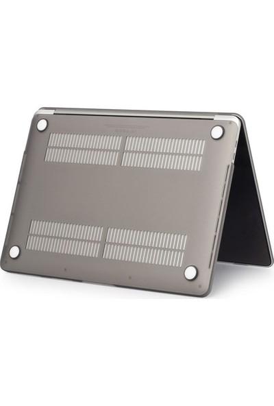 "Kızılkaya Apple Yeni Macbook Pro A1706 A1708 13"" - 13.3"" Kılıf Kapak Mat - Gri"