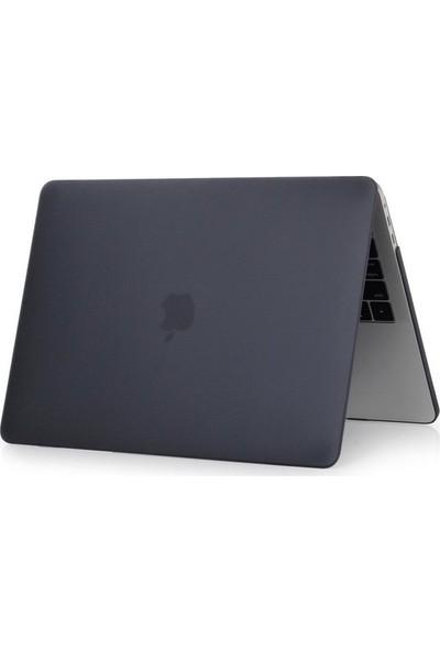 """Kızılkaya Apple Yeni MacBook Pro A1707 15"""" - 15.4"""" Kapak Kılıf Mat - Siyah"""