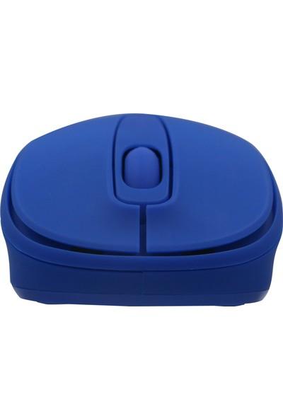 Inca IWM-331RMSilent Wireless Sessiz Mouse - Mavi