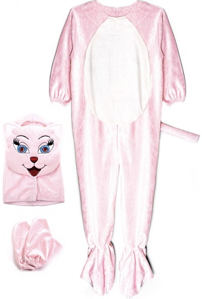 Oulabimir Kedi Kostümü Çocuk Kıyafeti