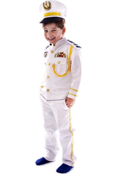Oulabimir Kaptan Kostümü Çocuk Kıyafeti
