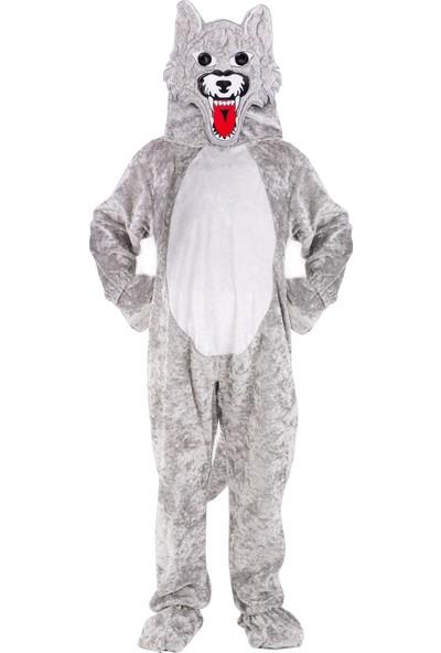 Oulabimir Kurt Kostümü Çocuk Kıyafeti