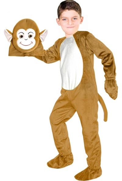 Oulabimir Maymun Kostümü Çocuk Kıyafeti