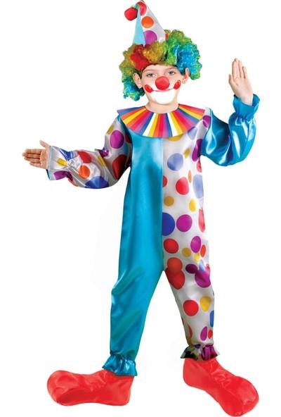Oulabimir Palyaço Kostümü Çocuk Kıyafeti