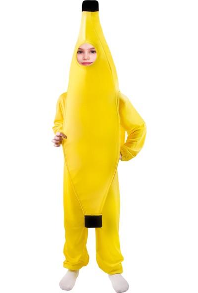 Oulabimir Muz Kostümü Çocuk Kıyafeti