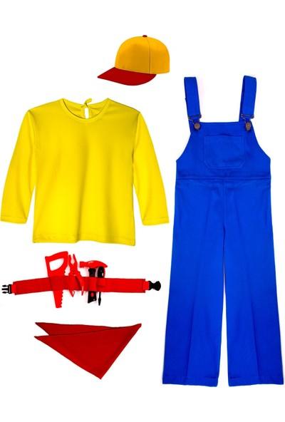 Oulabimir Mühendis Kostümü Çocuk Kıyafeti