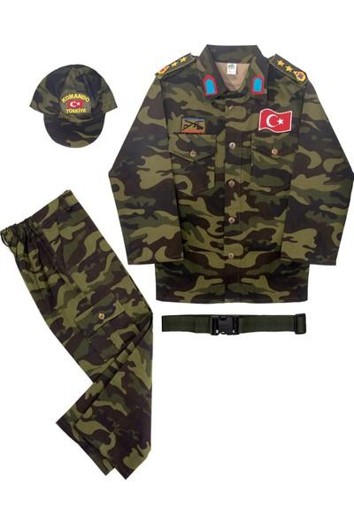 Oulabimir Türk Askeri Kostümü Çocuk Kıyafeti