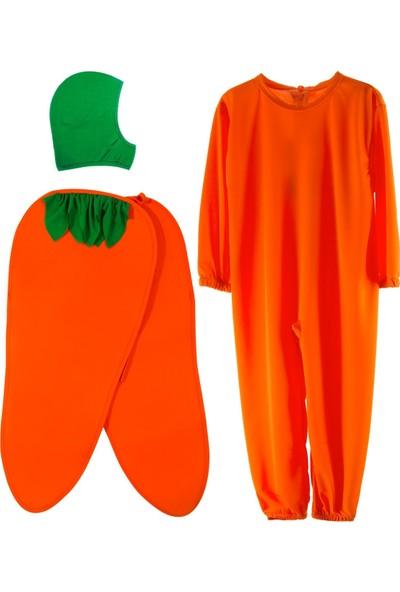 Oulabimir Havuç Kostümü Çocuk Kıyafeti