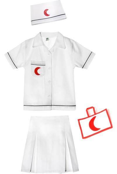 Oulabimir Doktor Kız Kostümü Çocuk Kıyafeti