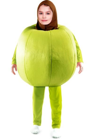 Oulabimir Elma Kostümü Çocuk Kıyafeti