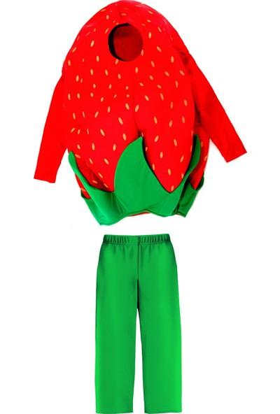 Oulabimir Çilek Kostümü Çocuk Kıyafeti