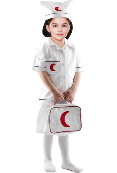 Oulabimir Hemşire Kostümü Çocuk Kıyafeti