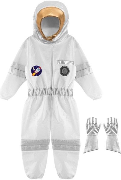 Oulabimir Kız Astronot Kostümü Çocuk Kıyafeti
