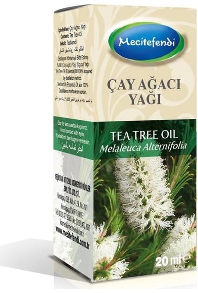 Mecitefendi Çay Ağacı Yağı 20 ml (%100 Saf Uçucu) Tea Tree Oil