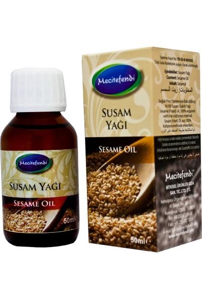 Mecitefendi Soğuk Pres Susam Yağı 50 ml (%100 Saf)