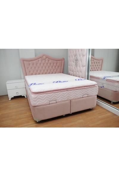 Ellaronia Çift Kişilik Baza + Yatak + Başlık 160 x 200