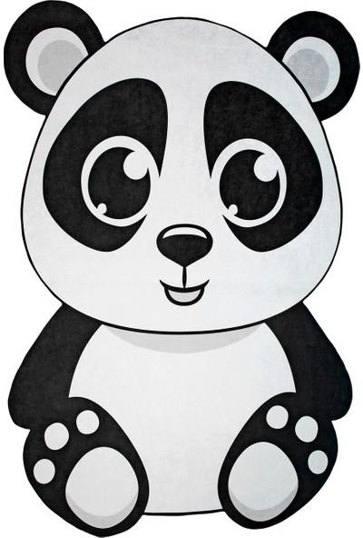 Dekoreko Figürlü Kids Halı 549 Panda 100 x 160 cm