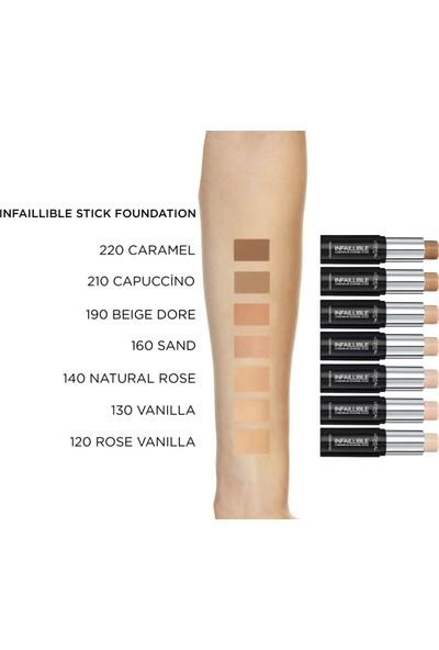 L'Oréal Paris Infaillible Shaping Stick Fondöten 220 Caramel
