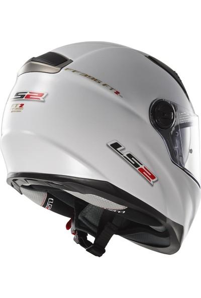 LS2 FF396 Beyaz Kask