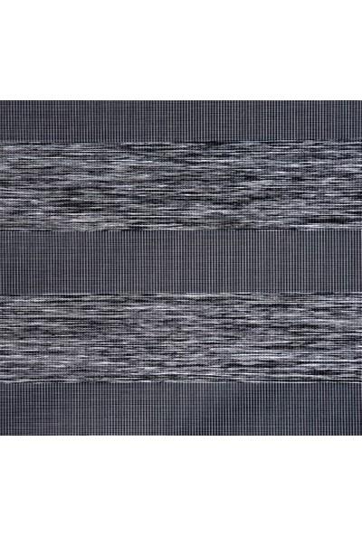Güneş Perde Brillantkoyu Gri Etek Dilimli Zebra 100X200 cm