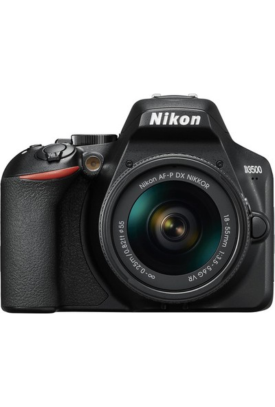 Nikon D3500 18-55Mm Vr ( 2 Yıl Nikon Resmi Distribütörü Karfo Karacasulu Garantili)